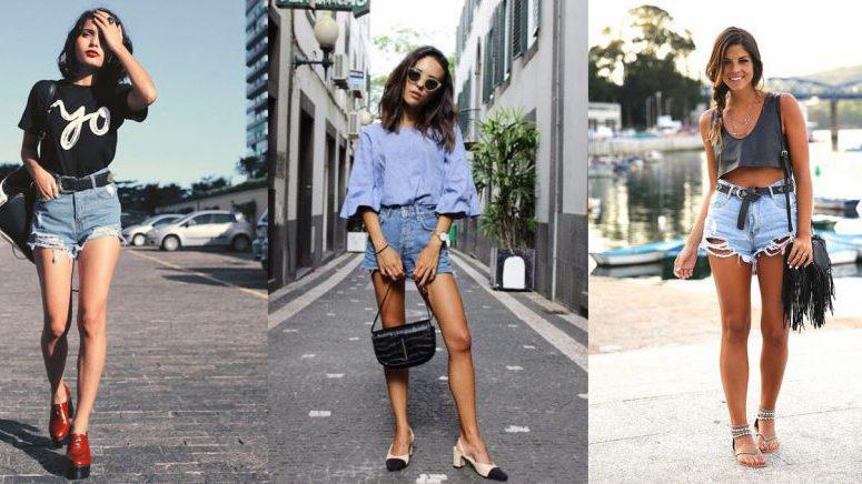 15 formas súper cool de usar unos shorts de mezclilla