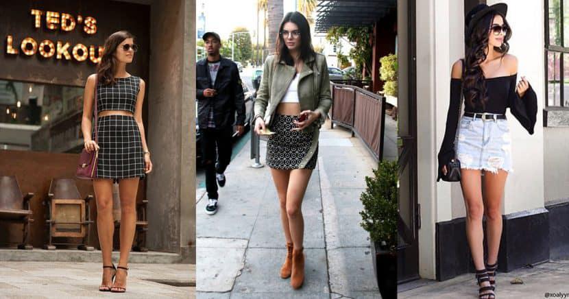 15 formas súper chic de usar una minifalda