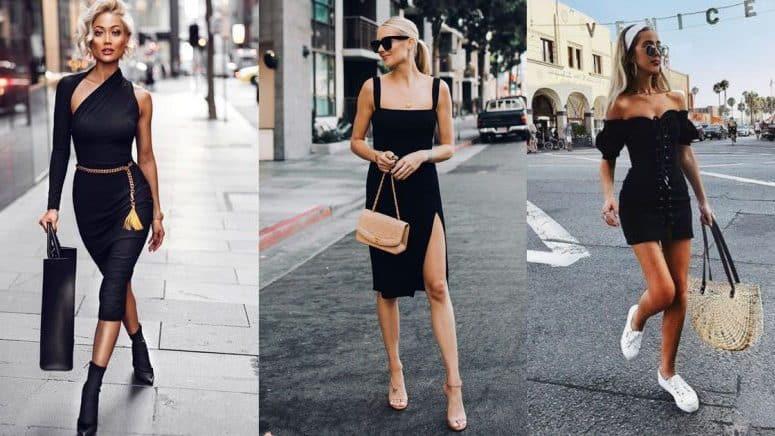 15 formas increíbles de usar un vestido negro