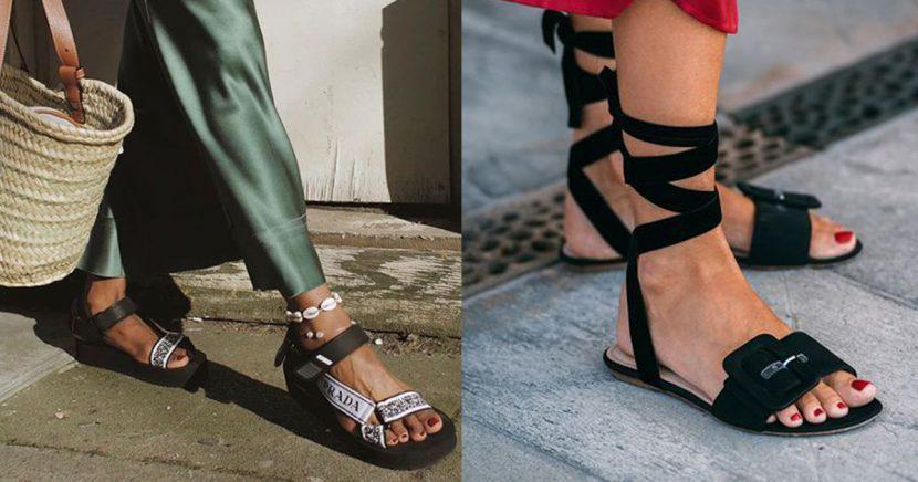 Formas cool de usar sandalias en temporada de calor