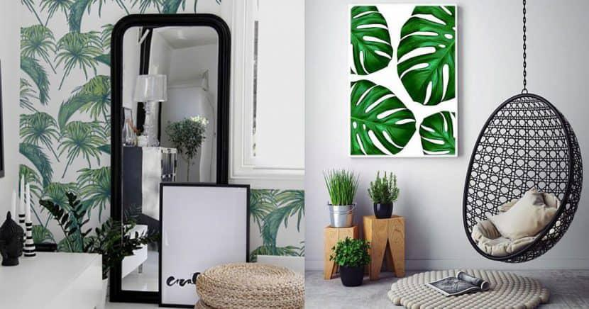 15 ideas que le darán un look tropical a tu decoración