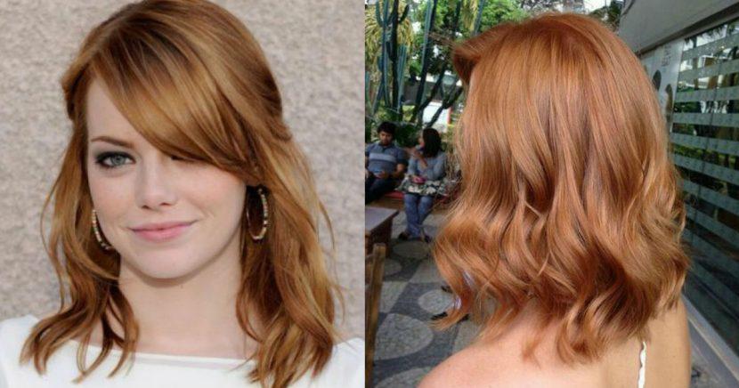 Ideas increíbles para pintar tu cabello strawberry-blonde