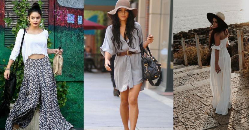 16 looks de Vanessa Hudgens que son ideales para la temporada de calor
