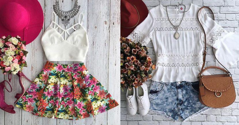 15 looks lindos y femeninos para usar durante época de calor