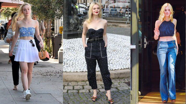 Looks primaverales inspirados en Elle Fanning