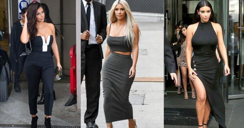 Estos son los mejores looks de street style de Kim Kardashian