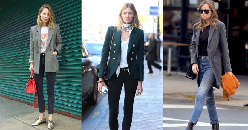 13 maneras trendy de usar un blazer en este año