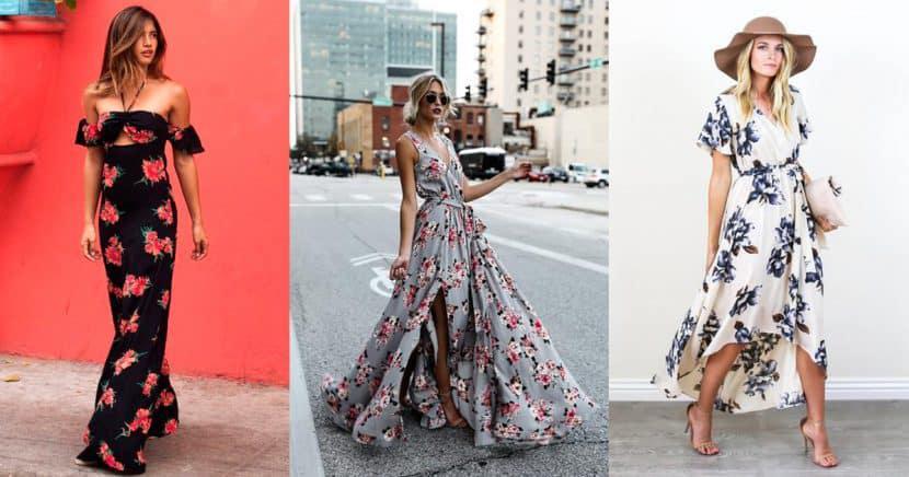 El maxi vestido se convierte en la pieza it de la temporada