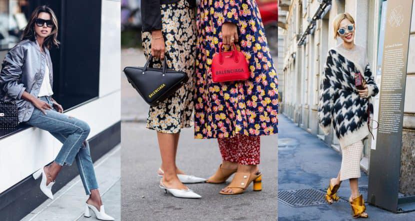 Los mules son los zapatos que necesitas para dominar el street style
