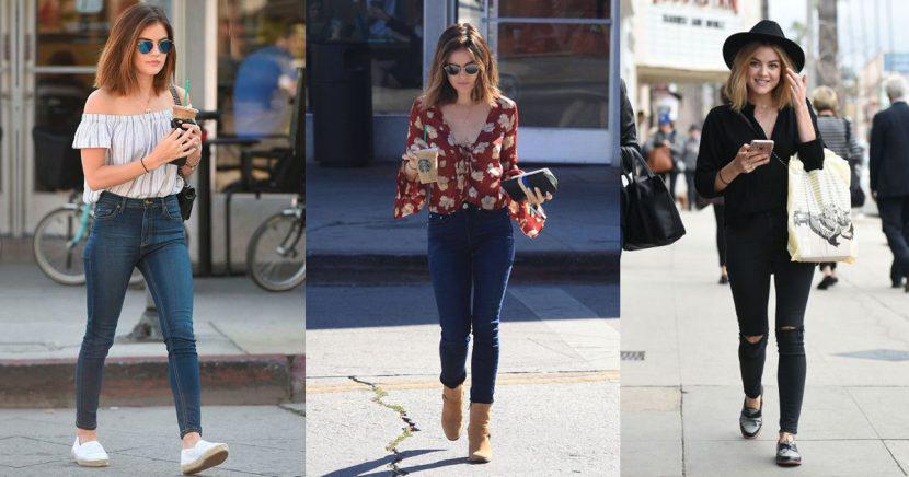 15 outfits de Lucy Hale increíbles para ir a la oficina o escuela