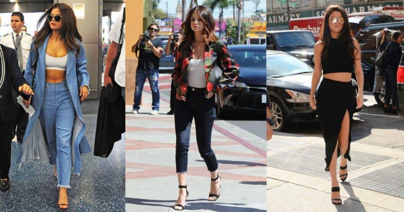 Inspírate en estos 15 outfits de Selena Gomez para obtener un look de 10
