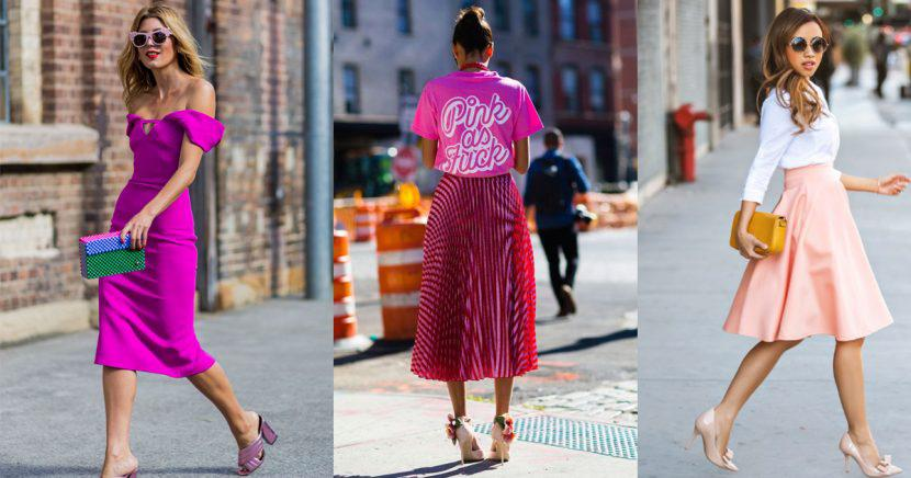14 outfits en color rosa que te convertirán en la más chic