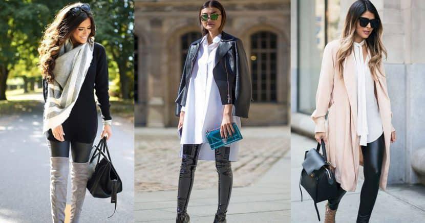15 outfits con leggings que puedes armar para ir a la oficina