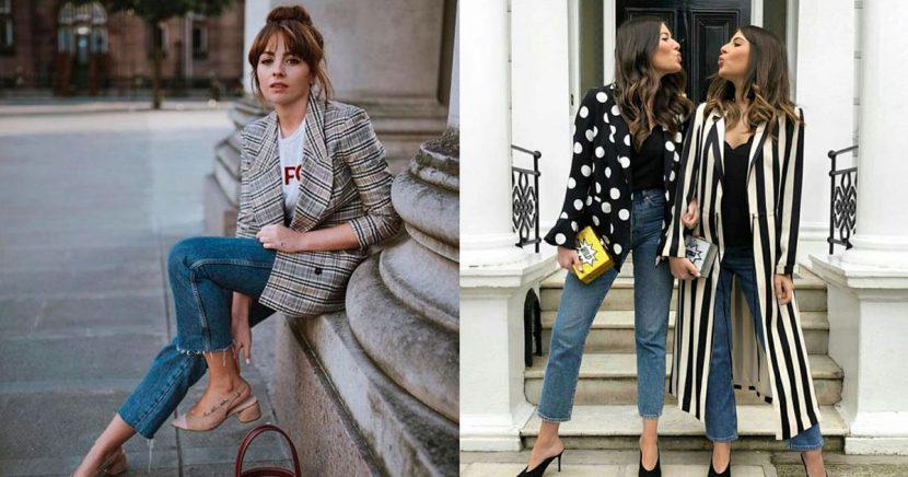 Outfits increíbles para ir con jeans a la oficina