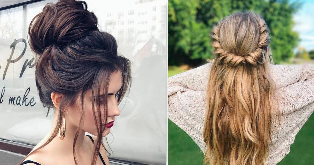 12 Peinados Rápidos Y Sencillos Que Te Sacarán De Apuros