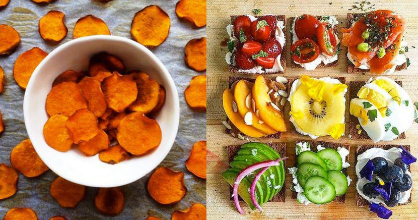 12 snacks saludables que te ayudarán a bajar de peso