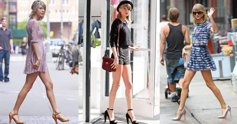 15 looks para resaltar tus piernas al estilo Taylor Swift