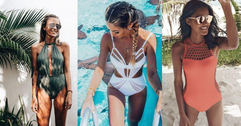18 trajes de baño completos que te harán lucir súper elegante