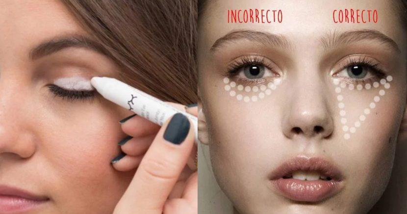 Trucos de maquillaje que te tomarán menos de 5 minutos