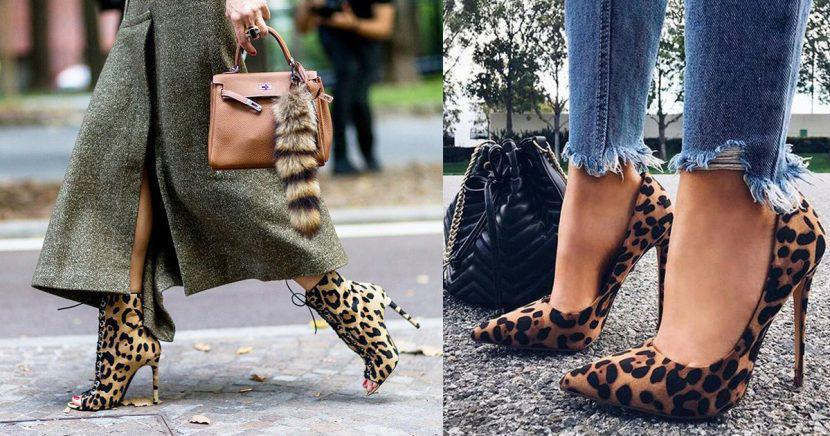 Trucos para usar zapatos con animal print