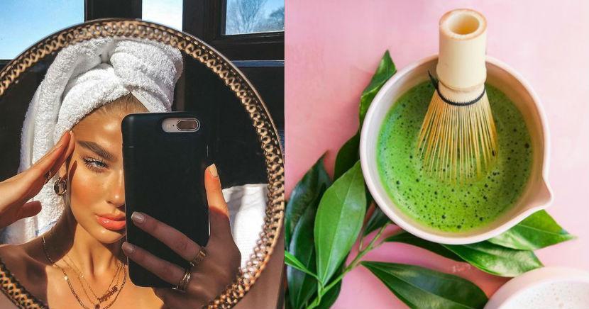 Beneficios de belleza que trae para ti el té verde de matcha