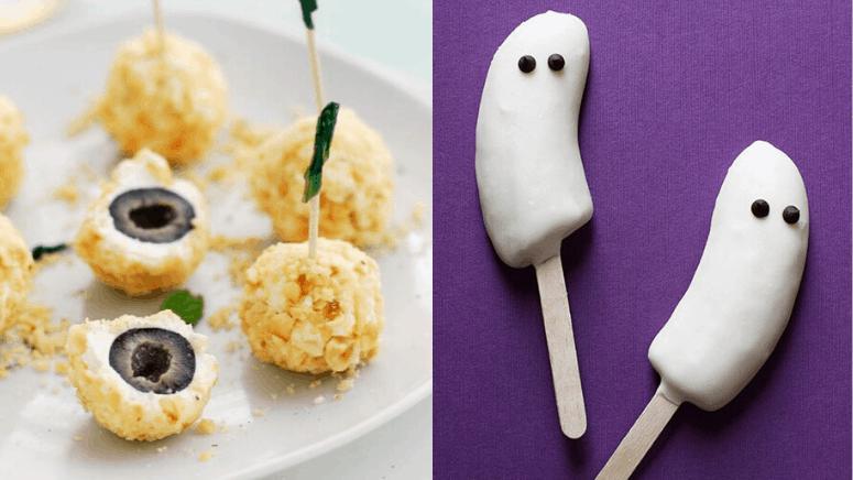 6 Bocadillos sencillos para tu fiesta de Halloween