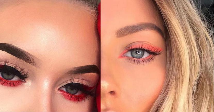 El truco de los maquillistas profesionales para delinear tus ojos