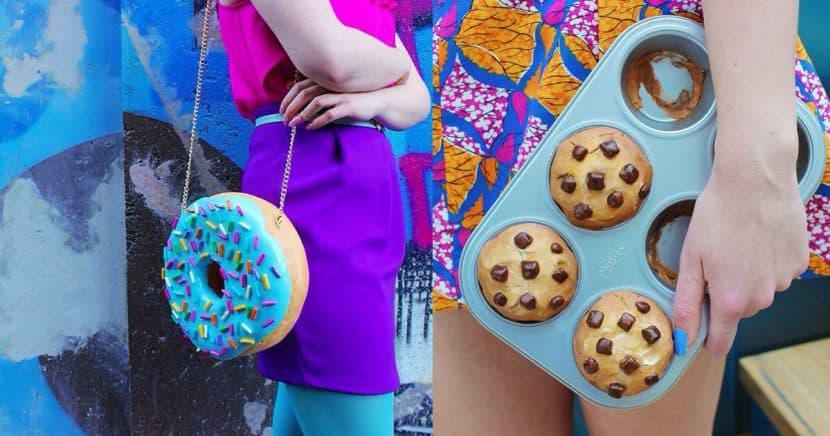 Diseños de bolsas para todas las amantes de la comida