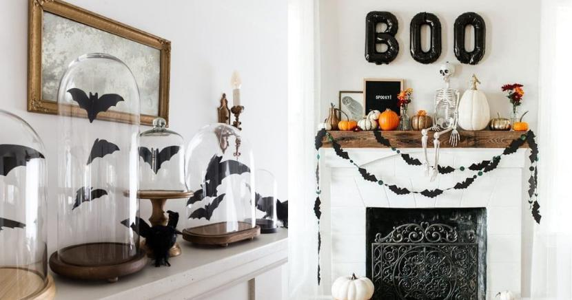 Ideas chic para decorar tu casa este Halloween