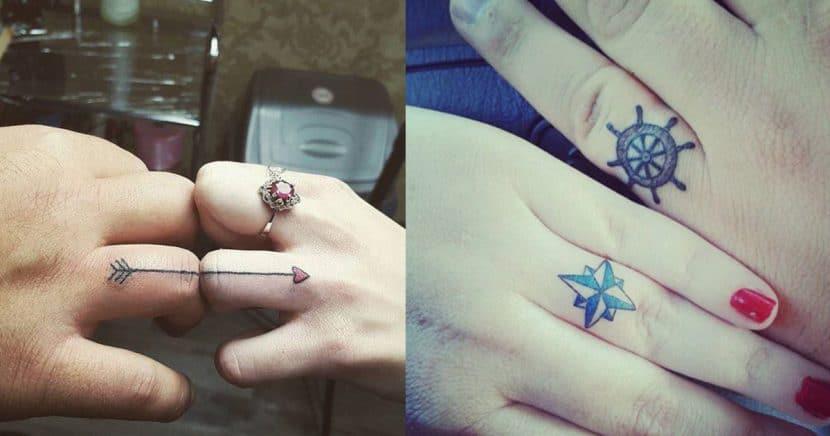 Tatuajes que te harán olvidar el anillo de compromiso