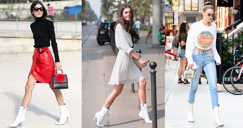 Aprende a usar unas botas blancas esta temporada