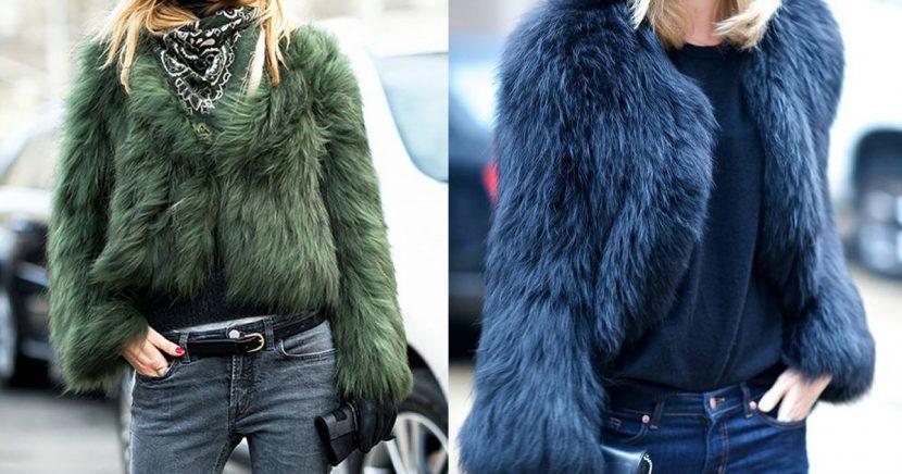 Temporada de frío, ¡temporada de fur jackets! Aprende a usarlas