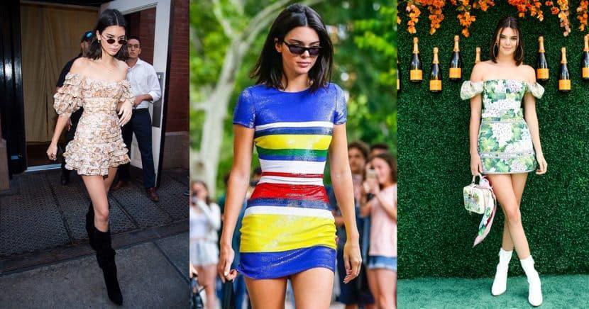 Kendall Jenner, la reina del mini vestidos y estos looks lo comprueban