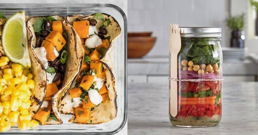 Box lunches saludables que puedes preparar para la oficina