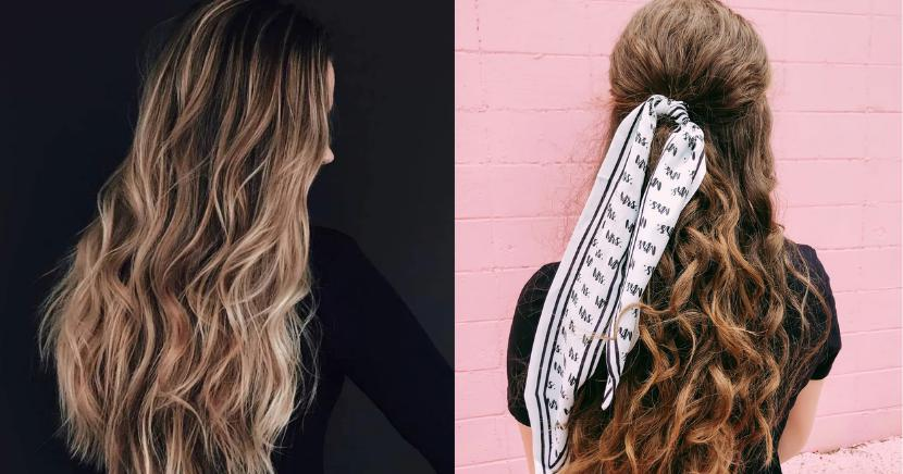 Ideas de peinados con tenazas pequeñas