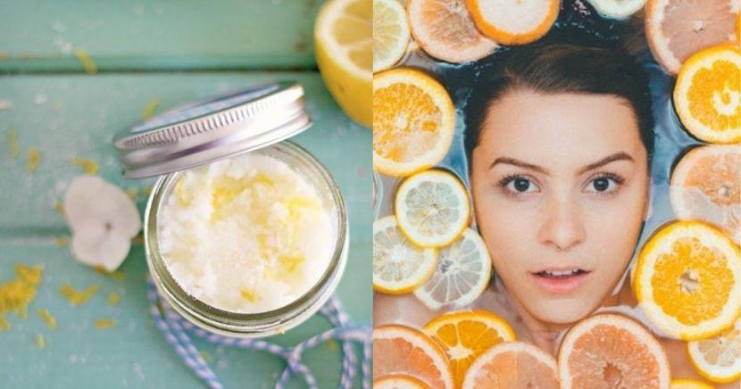 Crema casera de naranja para eliminar flacidez