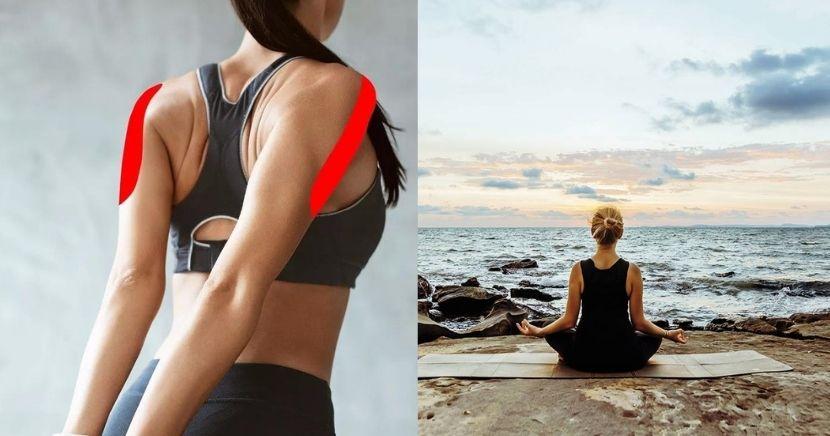 Ejercicio para liberar la tensión de los hombros