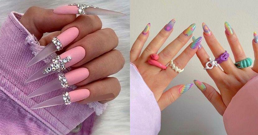 Diseños de uñas aesthetic que se te verán chulísimas