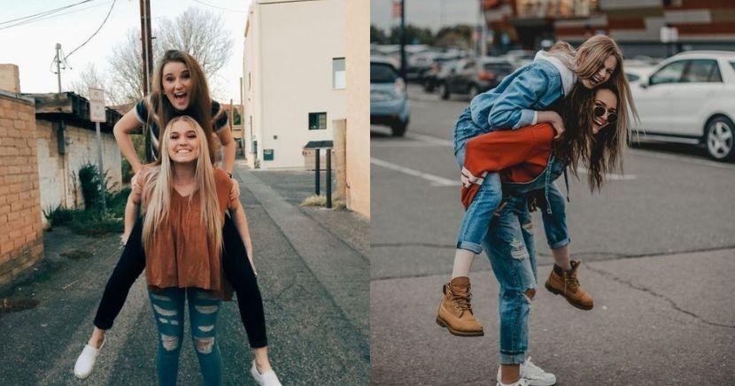 Ideas de fotos Tumblr con tu mejor amiga