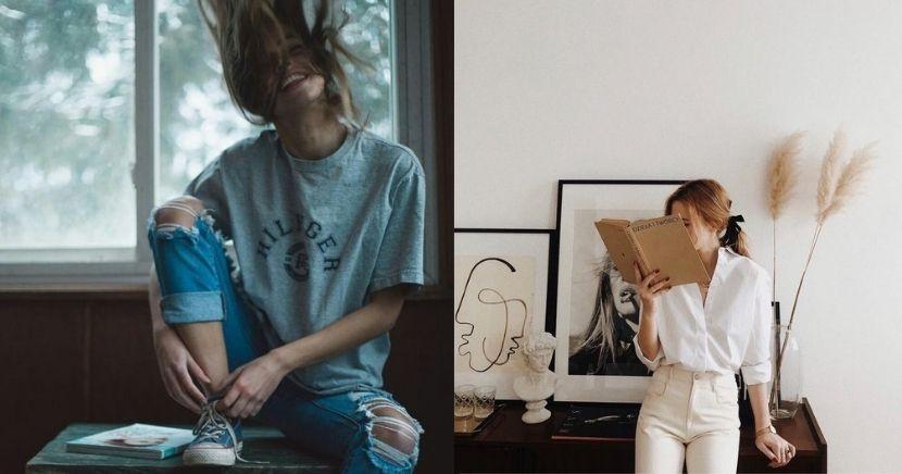 ideas de poses para fotos sin mostrar la cara