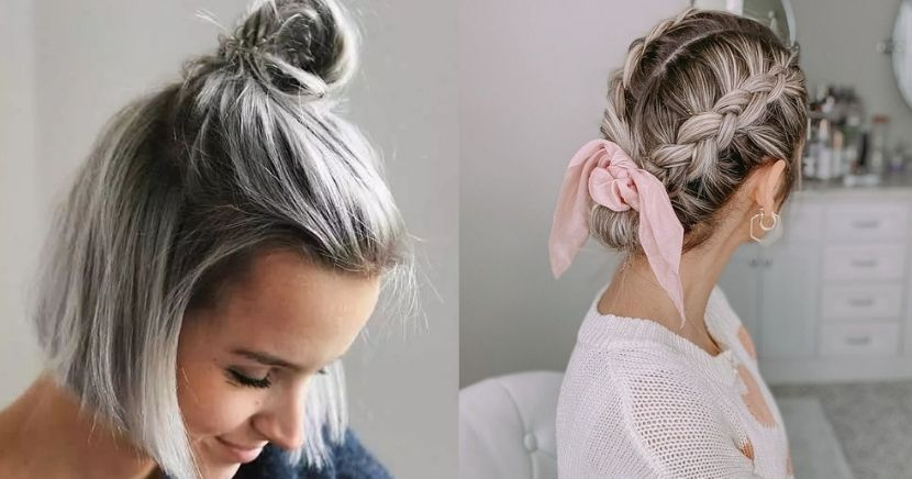 Ideas para las amantes del cabello corto