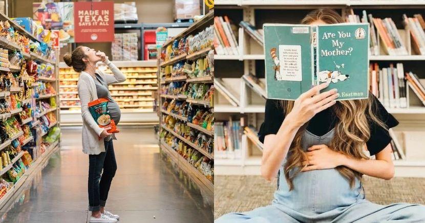 Ideas de fotos creativas para embarazadas