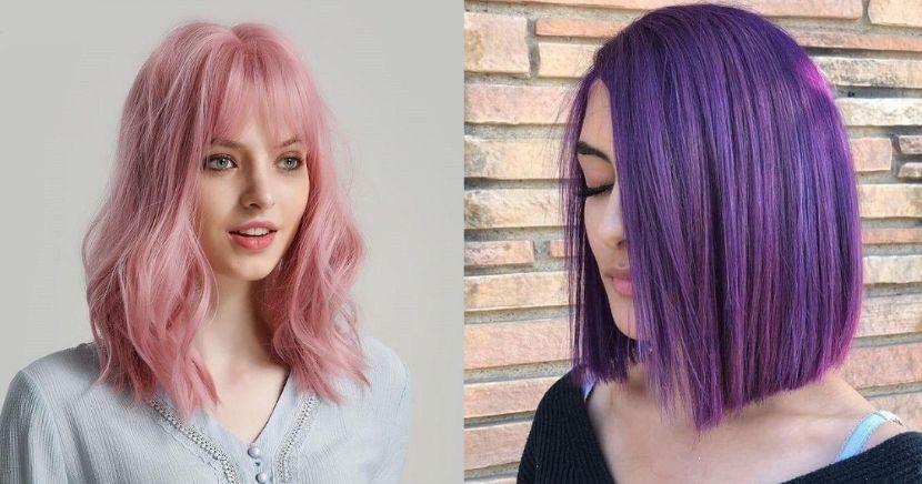 Ideas, colores y estilos para cabello corto