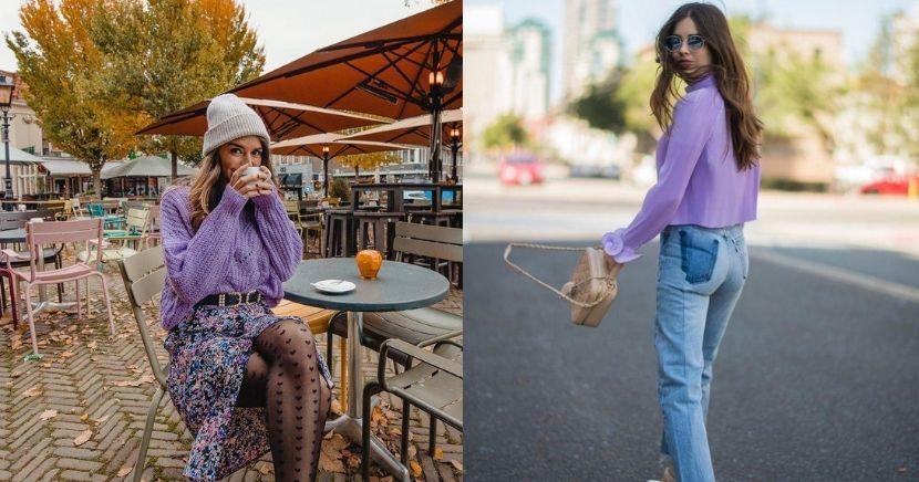 Ideas para looks color lavanda, el color del año