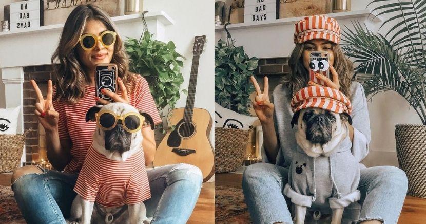 Ideas para tomarte fotos con tu perrito