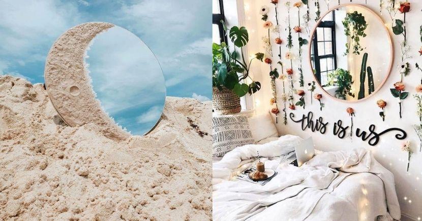 Increíbles ideas decorativas con espejos