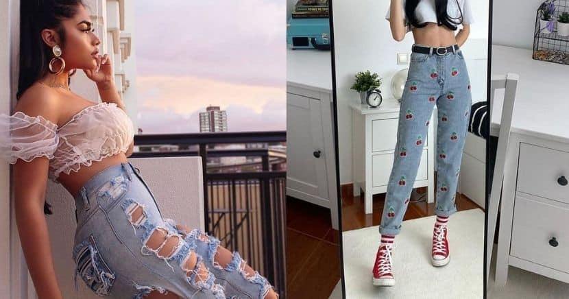 Formas de lograr un Aesthetic Outfit con tus jeans