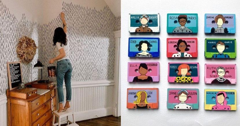 Ideas para decoraciones de pared caseras