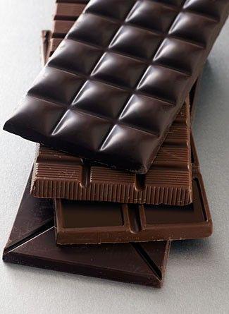 11 alimentos que contienen menos de 100 calorías - chocolate amargo