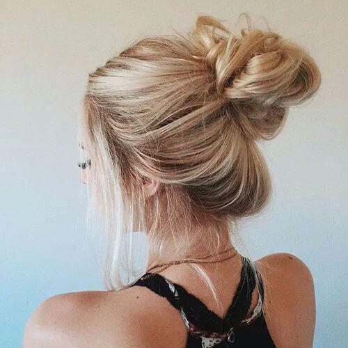 11 Peinados de chicas Tumblr que querrás usar todos los días - chongo
